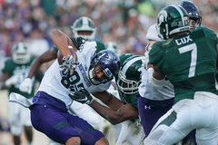 Football vs. Northwestern (carlygeraci) Tags: football northwestern msu msufootball homecoming eastlansing michigan