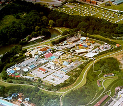 Marvel's (Aerial View) (storiesfromscarborough) Tags: scarborough marvels mrmarvel showtime amusements northbayrides fairground bigdipper aerial seaside history 1980s rides northbay