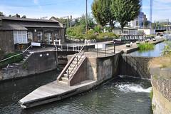 St. Pancras Lock, Regent's Canal, London (Richard Wintle) Tags: london uk england greatbritain lock canal regentscanal stpancras