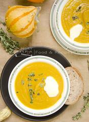 Pumpkin Soup (Hungry Peepor) Tags: pumpkin carrot soup boiled blended halloween