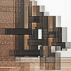 wall remix 2016-10-21 II (dedalus11) Tags: art abstract construction deconstruction kunst lines square brown