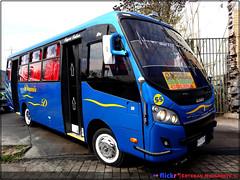 Damir.- (||Buses-de-chile|| E. Navarrete) Tags: caio foz volkswagen 9160 od damir