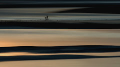 La Gense (landsendula) Tags: dusk sunset fishing sandbars estuary river icm1 nz shoreline silhouettes peace blueorange wishingiwasthere armandamarlevonminassian