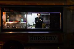 Selfie (konrad35) Tags: man guy work chef burger burgers streetfood foodtruck evening late truck