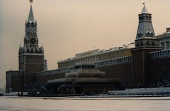 Red Square, Moscow (nick taz) Tags: redsquare moscow kremlin leninsmausoleum 1984 december gloomy cold