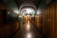 Schools out... (Sven Grard (lichtkunstfoto.de)) Tags: urbex lostplace lost urban exploration vergessen verlassen school schule abandoned decay derelict