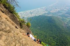 DSC_6024 (sergeysemendyaev) Tags: 2016 rio riodejaneiro brazil pedradagavea    hiking adventure best    travel nature   landscape scenery rock mountain    high ascend  carrasqueira risk  forest green  climbing