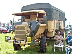 272 Bedford RL (Fitted with  Mineprotected Cab) (1966) (robertknight16) Tags: bedford british 1960s military rl mineprotected truck lorry luton 10aj83