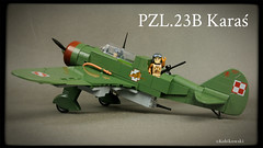 COBI PZL.23B Karas (Kobikowski) Tags: cobi lego plane airplane aircraft karas bomber set zestaw toy zabawka model