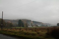2016 - 13.11.16 Aberfoyle (1) (marie137) Tags: aberfoyle marie137 scotland mist mountain hill town water country