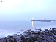 Pondicherry Long Exposure Click to Pondicherry old Harbour (pondicherry arun) Tags: longexposurepondicherry pondicherry puducherry