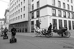 Timeline (K.BERKN) Tags: timeline coach street transport vien black white horse walk corner cincr travel