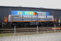 Saarrail 261 306-5, Bremen Inlandshafen (michaelgoll777) Tags: saarrail gravita br261