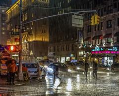 City rain (Jeffrey Friedkin) Tags: jeffreyfriedkinphotography architecture buildings city cityscene colors lights manhattan midtown newyork newyorkphoto nyc night newyorkscene neon rain street streetscene z