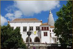 Palacio nacional de Sintra (Portugal, 12-7-2010) (Juanje Orío) Tags: portugal sintra 2010 patrimonioedificadodeportugal palacio patrimoniodelahumanidad whl0723 sigloxvi europeanunion europa europe