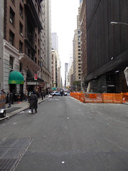 Parade Day Ghost Streets New York November 2016 (1140) (Richie Wisbey) Tags: ghost streets new york quiet closed off crosstown traffic macys polie policing sand trucks cops nypd guns protect serve felt safe best force earth excellent logistical nightmare empty scenes richard wisbey flickr usa exploring explored