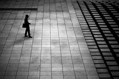 Monotone Serenity.... (Victor Borst) Tags: street streetphotography streetlife reallife real realpeople asia asian asians faces face canon5dmarkii canon candid travel travelling yokohama japan japanese trip urban urbanroots urbanjungle mono blackandwhite bw lines symmetry pattern