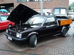 Opel Kadett D Pick up (911gt2rs) Tags: treffen meeting show event tuning stance umbau cabrio youngtimer truck vauxhall astra coachbuilt ute