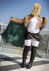 _MG_2724 (Mauro Petrolati) Tags: shingeki no kyojin attacco giganti krista lenz historia reiss romics 2016 ottobre cosplay cosplayer