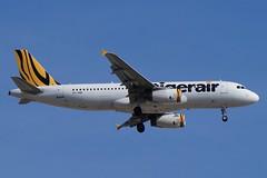 VH-VNB Tigerair Australia Airbus A320-232 (johnedmond) Tags: perth ypph australia tiger tigerair airbus a320 aviation aircraft aeroplane