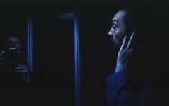 Deep In Thought. (Leon.Antonio.James) Tags: 35mm 35mmfilm 50mmf18 analog analogue ae1 color cinematic dustgrainandscratch kodakektar100 film filmisnotdead filmisalive filmsnotdead grain hand ishootfilm ilovefilm ifyouleave kodak leonantoniojames longlivefilm shootfilmstaypoor street shadow