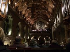 Christmas concert by The Sixteen (Wendy:) Tags: interior rutland organ christmas church uppingham thesixteen