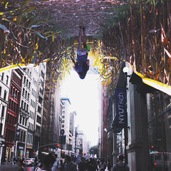 26 (zakchalmers) Tags: 26 tisch nyu nyc new york city building perpective upside field corn people down canon eos t2i surreal