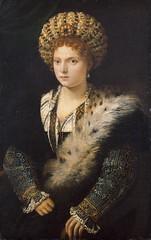 Isabella d'Este (lluisribesmateu1969) Tags: 16thcentury portrait titian onview kunsthistorischesmuseumwien vienna
