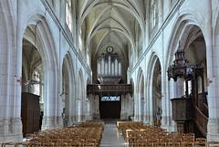 Aumale (Seine-Maritime) - glise Saint-Pierre-Saint-Paul - Nef (Morio60) Tags: aumale seinemaritime 76 normandie glise saintpierre saintpaul