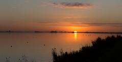 Panorama zonsondergang Veluwemeer (Hans Westerink) Tags: biddinghuizen flevoland nederland nl veluwemeer sunset zonsondergang panorama hanswesterink canon 6d stitched harderwijk