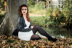 6 (Mickael Shooting Stars) Tags: shoot shooting halloween rencontre modele peur chucky fiancee couple horreur terreur couteau redhead
