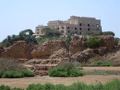 Palace of Saddam Hussein (D-Stanley) Tags: palace saddamhussein overlooking babylon iraq