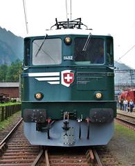 Erstfeld 09.09.2007 (The STB) Tags: erstfeld sbb cff ffs swissrailways lokomotivdepotsbb 125jahregotthardbahn gottardo125jahre gottardo125ans 125yearsgottardo heritagetrain