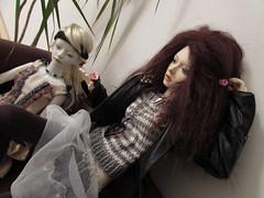 wedding (tarengil) Tags: bjd abjd asian doll elfdoll vivien reminisce resin dollmore zaoll luv wedding lesbian girls