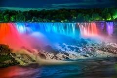 American Falls, Niagara - Happy new week everyone! (-> LorenzMao <-) Tags: httpwwwlorenzmaophotographycom americanfalls niagara niagarafalls multicolorfalls multicolor nikon nikond750 nightphotography nightlights nightcolor falls rocks river nikon24120mmf4 nikon24120f4
