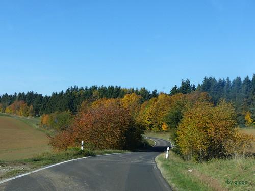 Eckweiler -  die K24 von Rehbach nach Eckweiler
