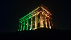 Penshaw Monument At Night (Uktransportvideos82) Tags: penshaw
