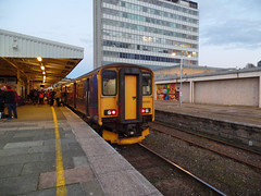 150265 Plymouth (Marky7890) Tags: gwr 150265 class150 sprinter 2p92 plymouth railway station devon train