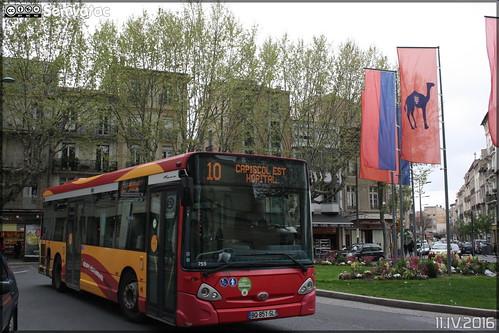 Heuliez Bus GX 127 L - Transdev Urbain / Béziers Méditerranée Transports n°755