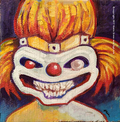 Sweet Tooth Twisted Metal daily doodle painting (Howie Green) Tags: sweet tooth twisted metal doodle