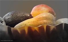vitaminreiche Kost - rich vitamins (Jorbasa) Tags: jorbasa hessen wetterau germany deutschland obst vegetable vitamine vitaminreichekost richvitamins avocado birne apfel apple pear frchte fruits winter