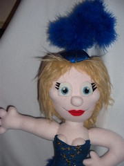 Kylie Minogue (AngelaTiara) Tags: kylie kylieminogue showgirl show girl bloom ploom leotard glitter glittery sparkly twinkly sequins australia homeandaway aussie singer sexy boobs shapely royal blue feathers stilettoslasvegas musical angelatiara ooak art doll glasgow handmade custom toy