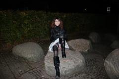 IMG_5189 (Kira Dede, please comment my photos.) Tags: kiradede kirad 2016 crossdresser copenhagen upskirt lingerie stockings ordrupgrd