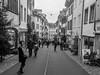 Découverte de l'Est (Antoine Desloges Studio) Tags: noel bâle suisse frontière rhin fleuve marche promenade commerces architecture bw vieille ville