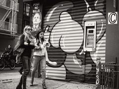 Kenmare Street, NYC (SG Dorney) Tags: ny nyc newyorkcity blackandwhite bw monochrome manhattan lowermanhattan downtown street streetphoto streetphotography canon eos60d people billmurray soho