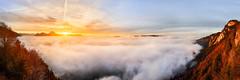 Gruyere_27-11-16_Sunset (Andy'z Art) Tags: suisse switzerland gruyere nikon nikkor andyz art montagnes mountains colorful colors coucherdesoleil clouds sea moleson