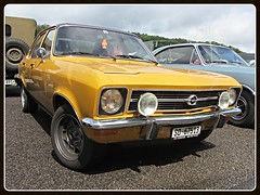 Opel Ascona A (v8dub) Tags: opel ascona a schweiz suisse switzerland german gm pkw voiture car wagen worldcars auto automobile automotive old oldtimer oldcar klassik classic collector