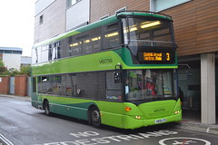 Southern Vectis 1114 HW58ATK (Will Swain) Tags: newport 15th october 2016 bus buses transport travel uk britain vehicle vehicles county country england english south southern island isle wight town centre station green vectis 1114 hw58atk
