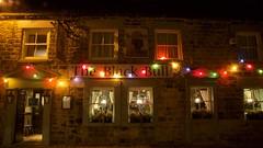 Not So Black Bull (ianwyliephoto) Tags: corbridge northumberland tynevalley tynedale christmas lights festive twinkly twinkle community blackbull pub restaurant greeneking