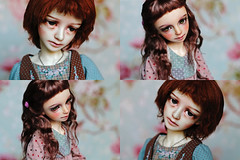 Michelle and Emma (Luthigern) Tags: bjd dollstown ariel sd volks maria msd girl
